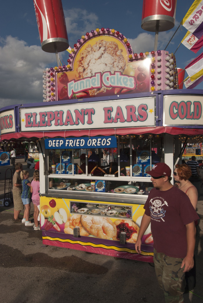 12. You've attended the South Carolina State Fair in Columbia.