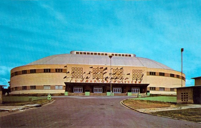 8. Barton Coliseum