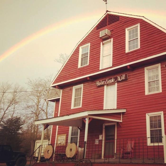 10. Bean Palace Cafe at War Eagle Mill
