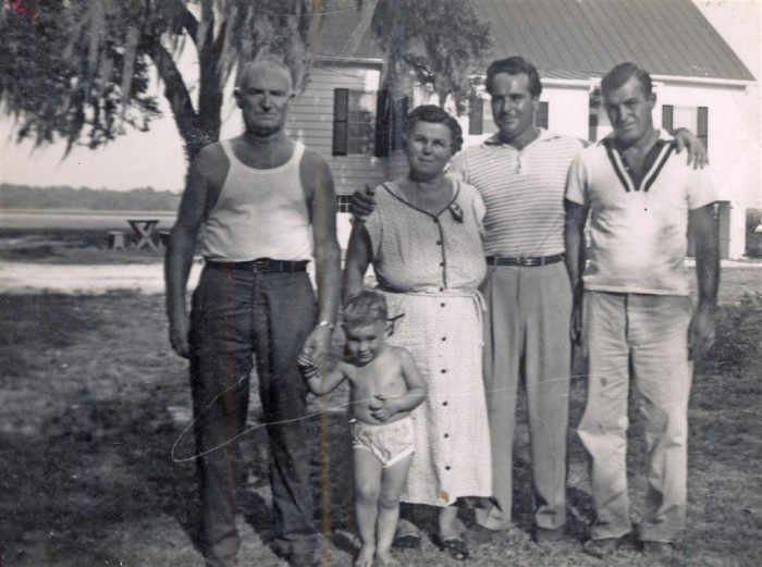 1. Three generations come together for this group photo taken in Beaufort in 1954.