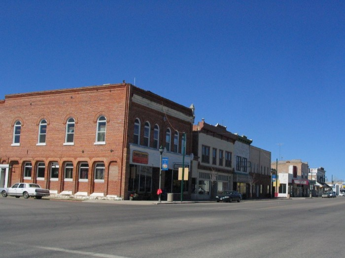 12. Main streets like this one in Beaver...