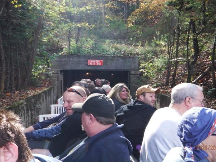 6. Beckley's Exhibition Coal Mine