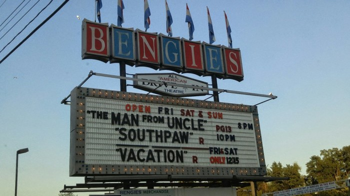 5. Benjie's Drive-In Theater, Baltimore