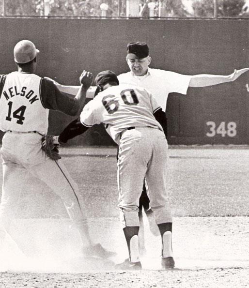 14. Bill Valentine, Umpire