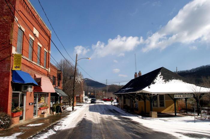 6. Black Mountain, NC