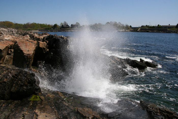 10. Blowing Cave, Kennebunkport