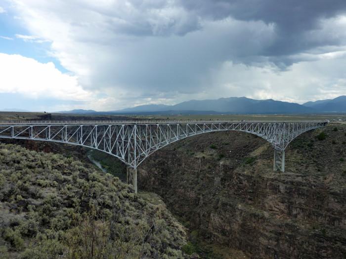 11. Rio Grande Gorge Bridge, near Taos