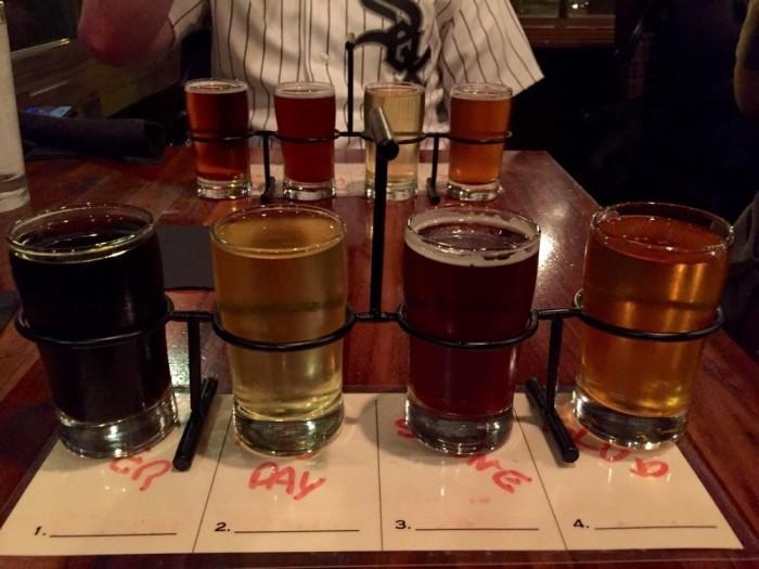 bru beer flights