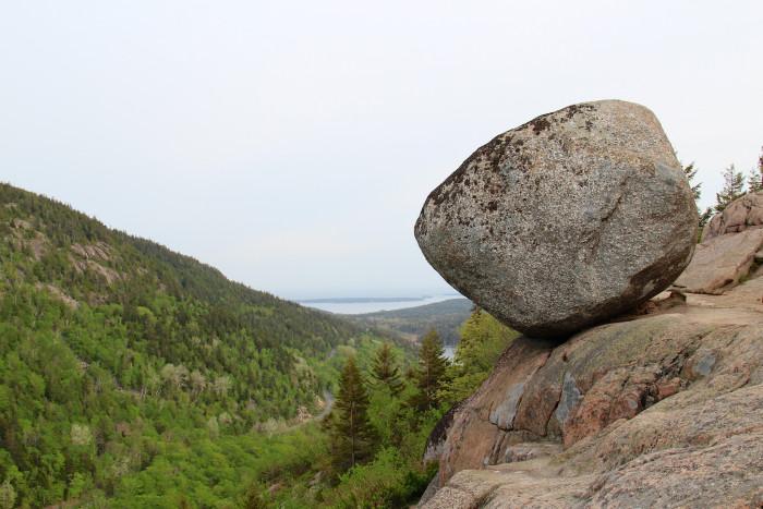 5. Bubble Rock, Acadia National Park