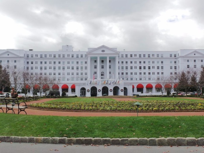 You'd never know to look at it, but inside The Greenbrier resort in White Sulphur Spring there's a massive bomb shelter that was meant to house the 500-plus members of Congress in the event of a nuclear attack during the Cold War.