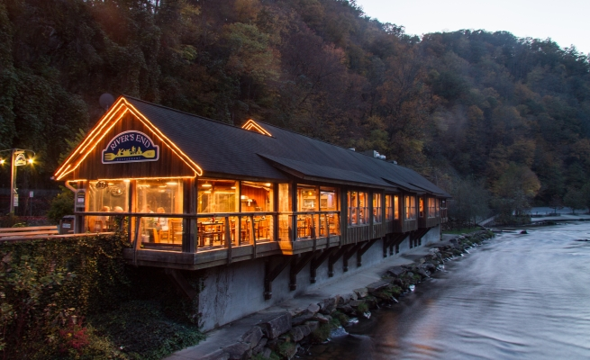24. River's End Restaurant, Bryson City