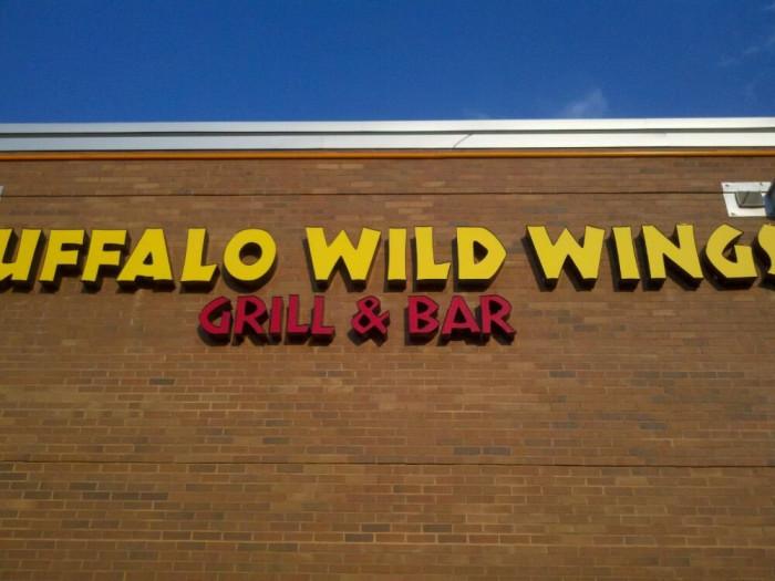 12. Buffalo Wild Wings - Florence