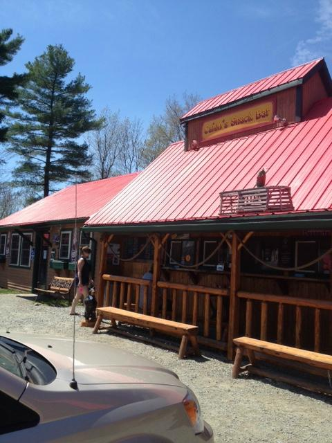 16.  Cajun's Snack Bar - 1594 Vt Route 100, Lowell