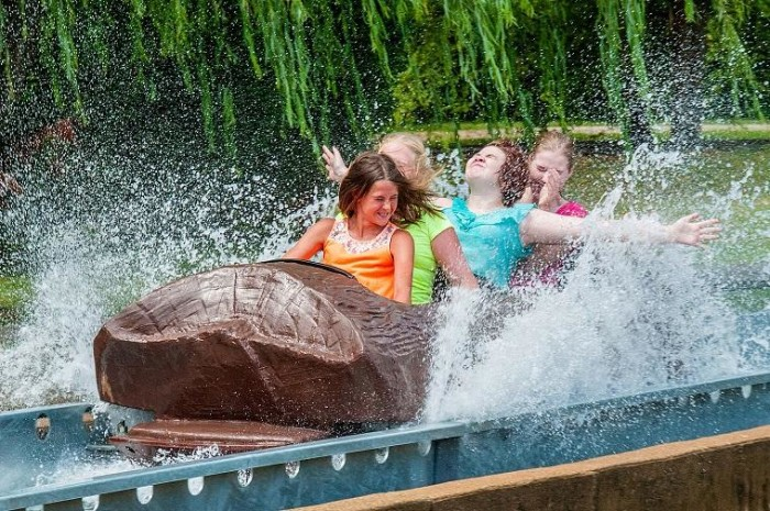 2. Summer trips to Camden Park or Kennywood