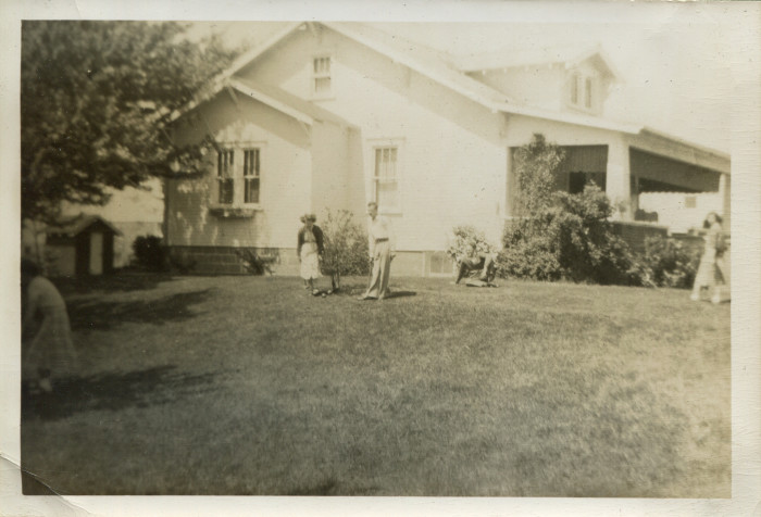 13. Here, people play croquet at the home of Herman Wendt in Cameron in the early 1950s.