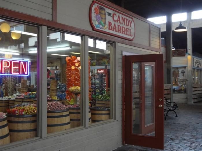 9. Candy Barrel (Fort Worth)