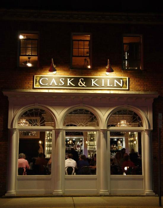 5.  Cask & Kiln - 4 North Main Street, Corner of RT 9 and RT 100, Wilmington