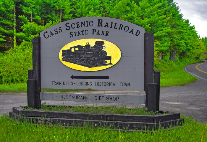Cass Scenic Railroad State Park is made up of Cass Scenic Railroad, the former company town of Cass, and some of Bald Knob, the highest point on Back Allegheny Mountain.