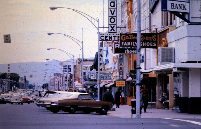 8. Center Street, Provo, 1971