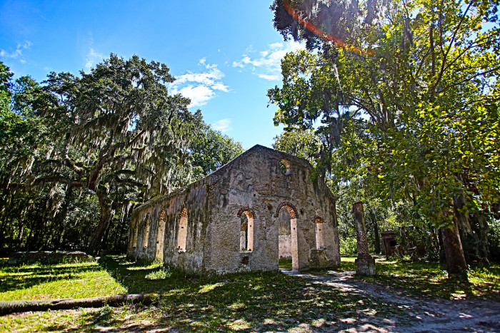5. Chapel of Ease, St Helena Island - Beaufort, SC