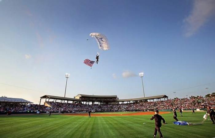 7. Charleston Riverdogs Baseball - Charleston, SC