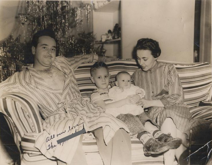 4. You can feel the love in this Christmas photo taken in the Lowcountry in 1956.