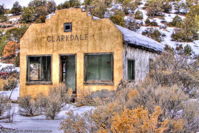 9. This structure, north of Aztec, is a bit of a mystery. Was Clarkdale a town? A business?