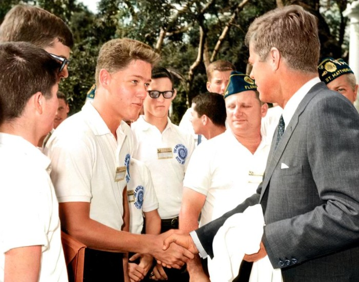 1. Clinton Meets Kennedy