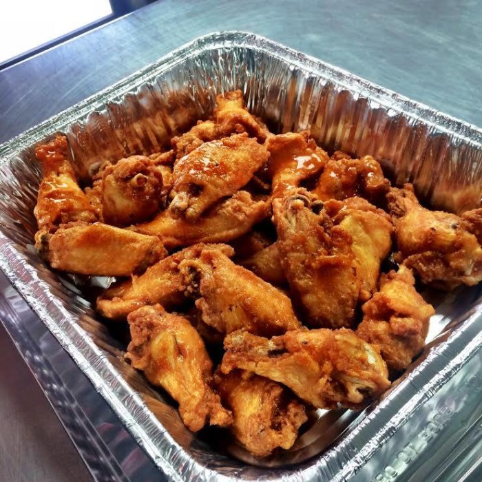 7. The Clutch Wing Shop in Morgantown