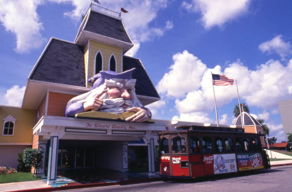 8. Do just about anything at the Mystery Fun House in Orlando.