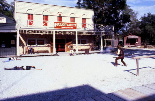 2. Watch a shoot-out at Six Gun Territory in Ocala.
