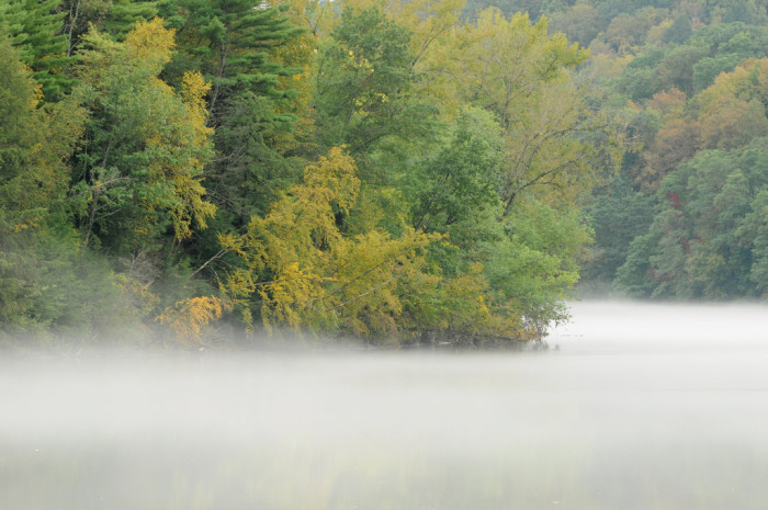 6. What's hidden beneath this thick fog?