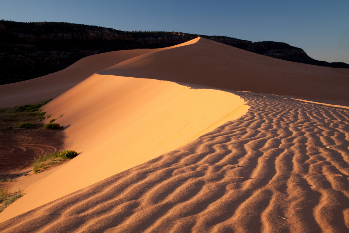 11. Coral Pink Sand Dunes State Park
