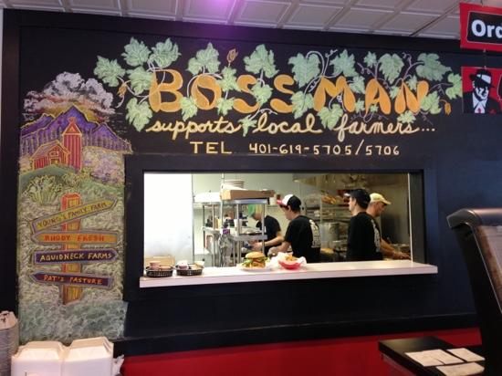 4. Bossman Burger, Middletown