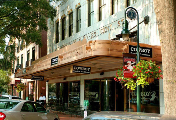 9. Cowboy Brazillian Steakhouse - Columbia, SC