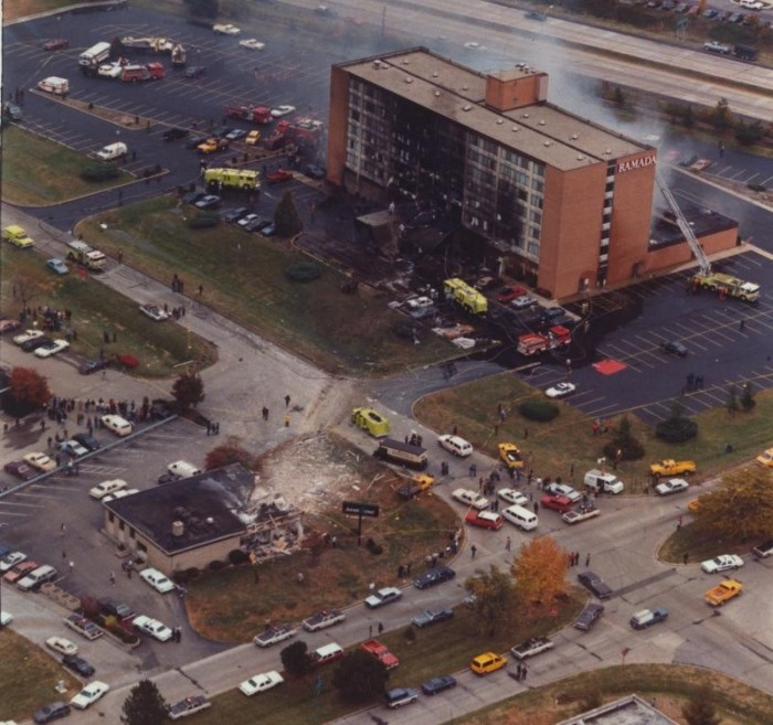 5. The Ramada Inn Crash