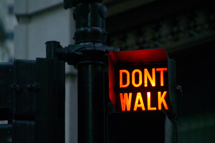 6. Tourists will cross the street without looking and assume you'll stop.