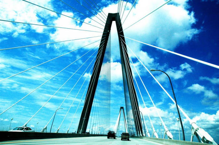 9. You've crossed the Ravenel Bridge in Charleston/Mount Pleasant, either on foot, bike or in your car.