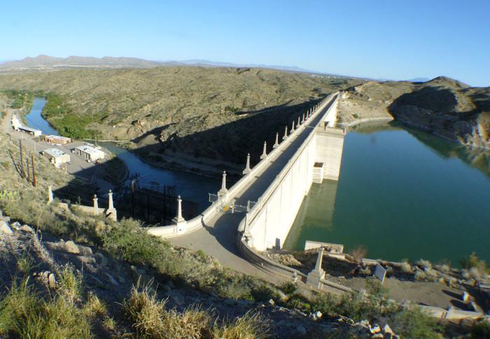 10. Elephant Butte Dam, Elephant Butte