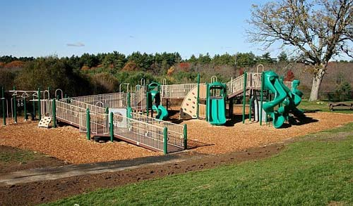 3. Dacey Community Field Playground, Franklin
