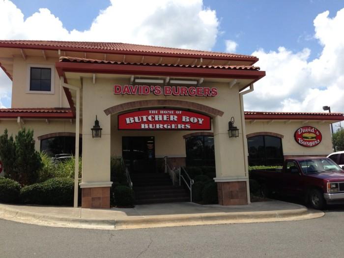 16. David's Burgers