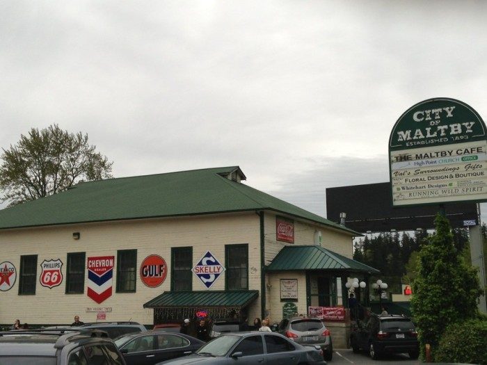 1. Maltby Cafe, Snohomish