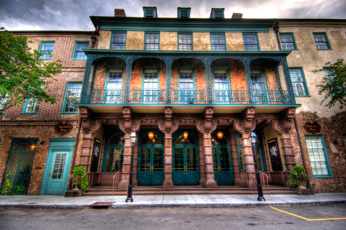 3. The Dock Street Theater in Charleston has been featured in many films. It's easy to see why.
