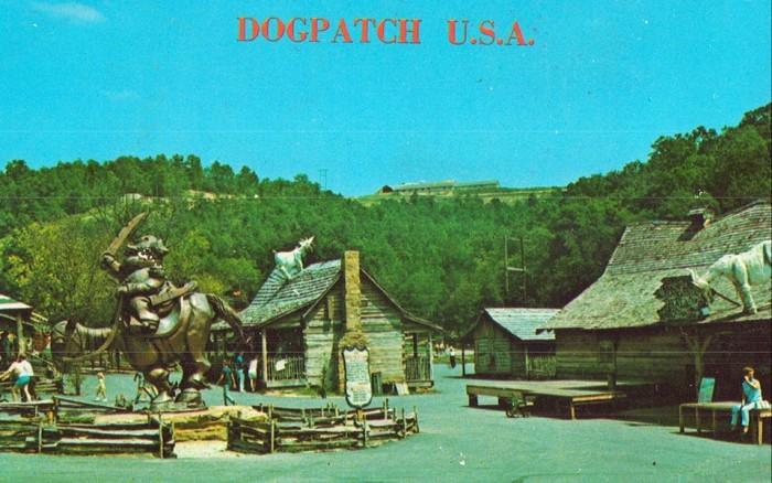 2. Dogpatch USA Postcard