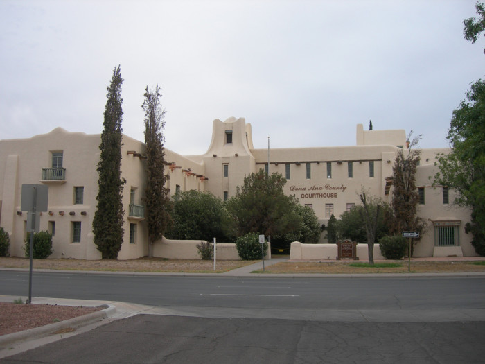 2. Dona Ana County Courthouse, 251 W. Amador Ave, Las Cruces
