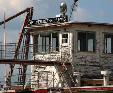 1. Captain Meriwether Lewis Dredge, Brownville