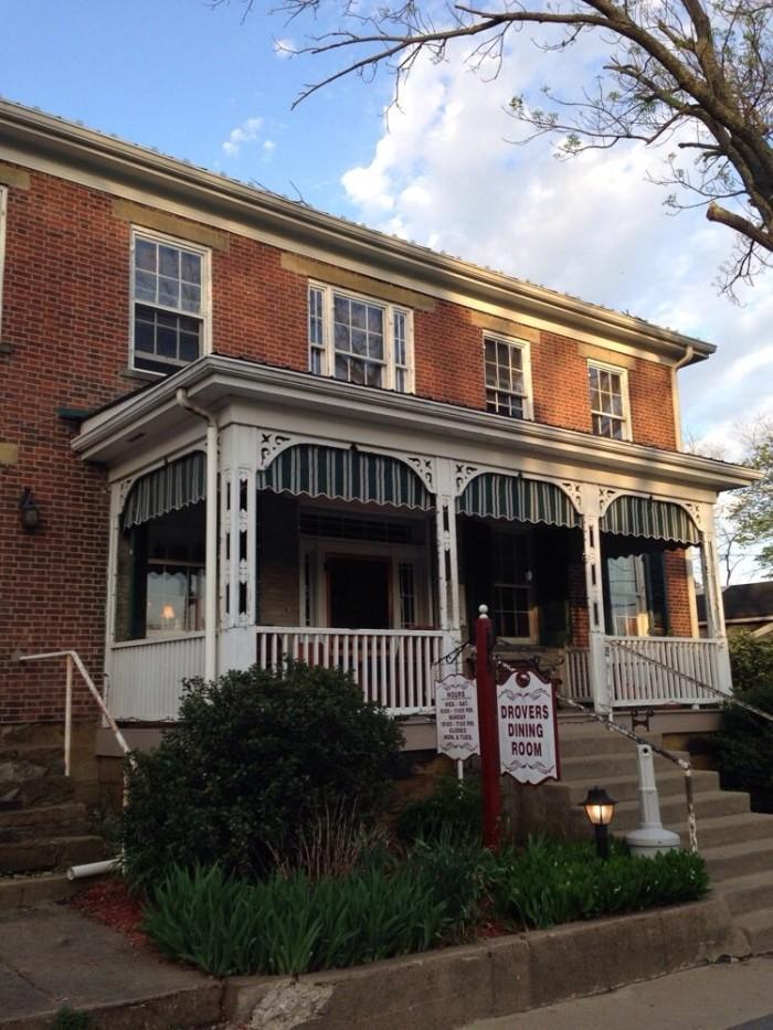 8. Drover's Inn in Wellsburg
