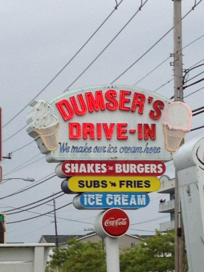 10. Dumser's Dairyland, Ocean City