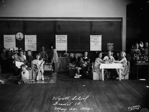 7. Denver's Wyatt School, 1942