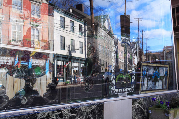 6) Go window shopping in Historic Ellicott City.